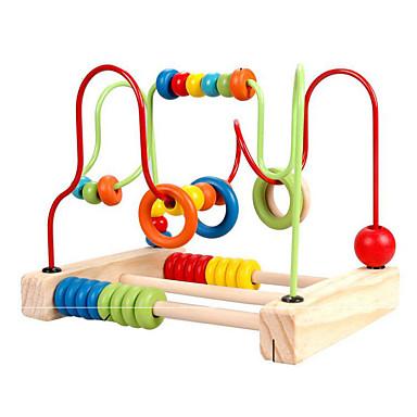 Stavební bloky Hračky Zábava Dřevo Dětské Pieces