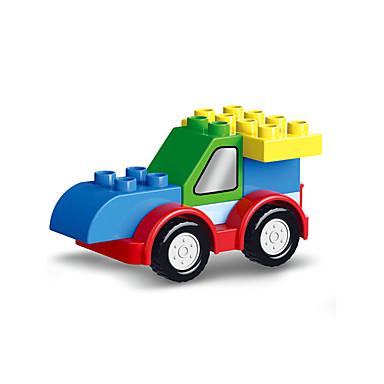 Spielzeug-Autos Bausteine Bildungsspielsachen Spielzeuge Gabelstapler Transformierbar Abs Kinder Stücke