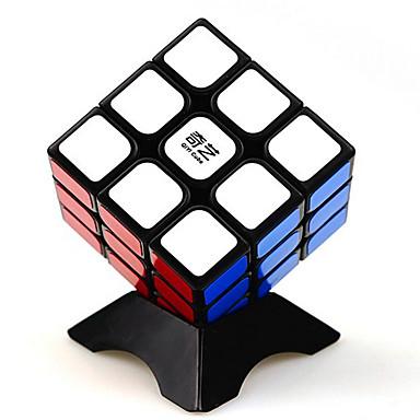 Rubikin kuutio QI YI 3*3*3 Tasainen nopeus Cube Rubikin kuutio Puzzle Cube Sileä tarra Neliö Lahja