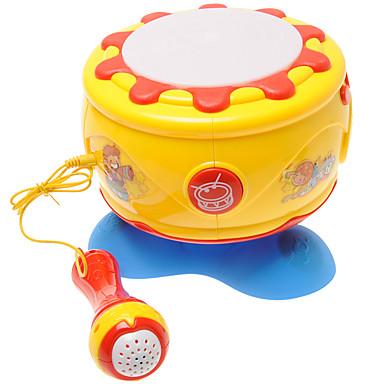 Schlagzeugset Puppenhaus Musik Spielzeug Beleuchtung Kunststoff Kinder Mädchen Geschenk