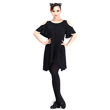 Latin Dance Tops Women's Performance Modal Short Sleeve
