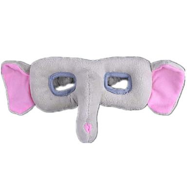 Elefante Máscaras de Dia das Bruxas Máscara de Animal Animais de Pelúcia Tecido Felpudo Para Meninas Brinquedos Dom