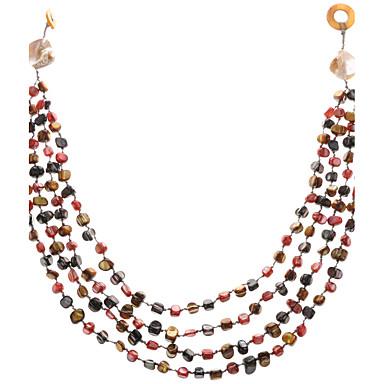 Dámské Prohlášení Náhrdelníky Šperky Šperky Zirkon Slitina Jedinečný design Módní Euramerican Šperky Pro Svatební Párty Zvláštní