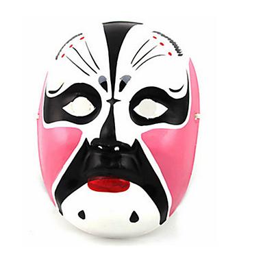 Halloweenské masky Ručně malovaná maska Ostatní Jídlo a nápoje Omítka Pieces Unisex Dospělé Dárek