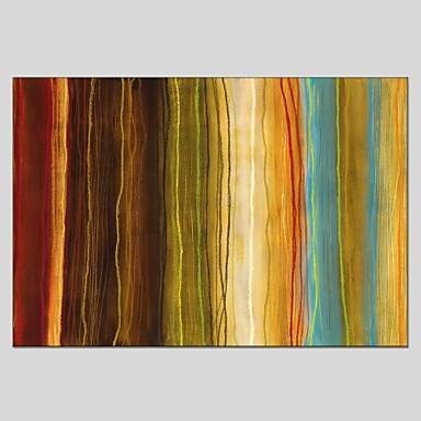 Handgemalte Abstrakt Panorama,Modern Klassisch Ein Panel Leinwand Hang-Ölgemälde For Haus Dekoration