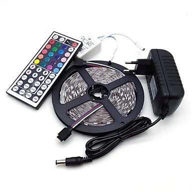 5m مجموعات ضوء 300 المصابيح 5050 SMD RGB 100-240 V / IP44
