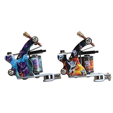 Coil Tattoo Machine Liner and Shader with 6-9 V Metal Professional / High quality, formaldehyde free