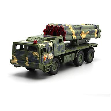 Carros de Brinquedo Brinquedos Modelo de Automóvel Caminhão Veículo Militar Brinquedos Simulação Música e luz Caminhão Brinquedos Liga de