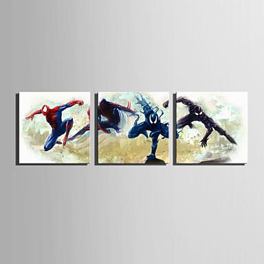 قماش طباعة ثلاث لوحات كنفا مربع الطباعة جدار ديكور تصميم ديكور المنزل