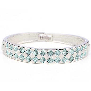Dámské Kotníkové náramky Šperky příroda Módní Retro Ručně vyrobeno Štras Slitina Oval Shape Šperky Pro Svatební Párty Narozeniny Maturita