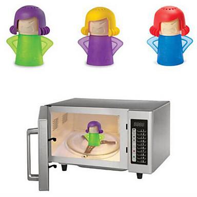 1 pc irritado mama microondas limpador limpeza suprimento ferramentas de cozinha