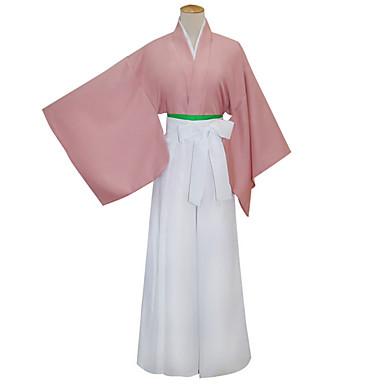 Chimono Inspirado por Fantasias Yukimura Chizuru Anime Acessórios para Cosplay Cinto Mais Acessórios Capa de Kimono Algodão Mulheres novo