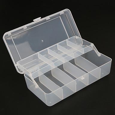 Fishing Tackle Boxes Tackle Box 2 Trays Plastics 20*10cm*6