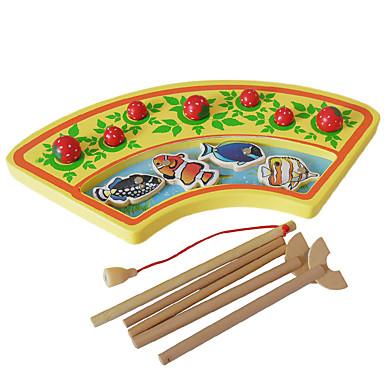Bausteine Angeln Spielzeug Bildungsspielsachen Spielzeuge Fische Frucht Holz Kinder Stücke