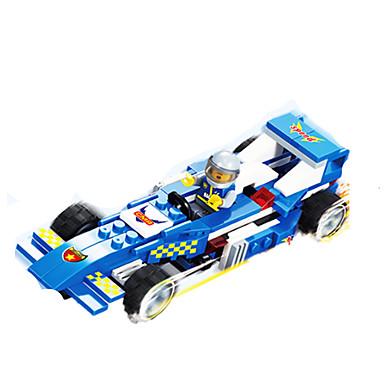 JIE STAR Carros de Brinquedo Blocos de Construir Carro de Corrida Criativo Faça Você Mesmo Carro de Corrida Unisexo Para Meninos Brinquedos Dom