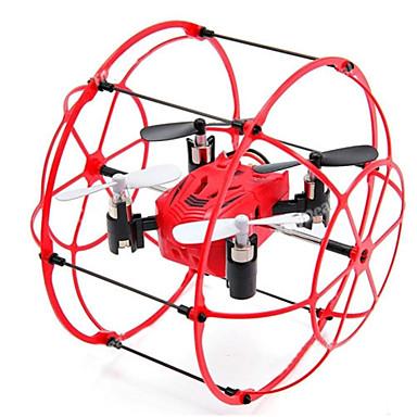 RC Drone TKKJ M66 4 Kanal 2.4G - Fjernstyrt quadkopter Flyvning Med 360 Graders Flipp Fjernstyrt Quadkopter USB-kabel Skrutrekker Blader