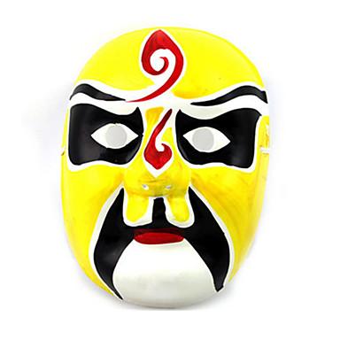 Máscaras de Dia das Bruxas Máscara Pintada a Mão Brinquedos Outros Gesso Terror Peças Unisexo Dom