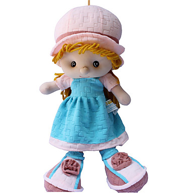 40cm Boneca menina / Boneca de pelúcia Fofinho / Segura Para Crianças / Non Toxic Tecido / Felpudo Para Meninas Dom