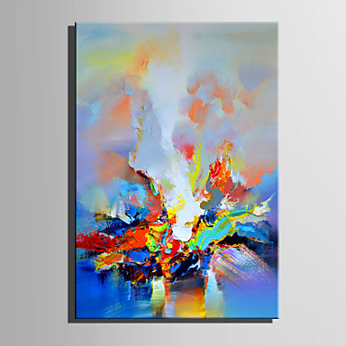 Print Stretched Canvas - Abstract Retro