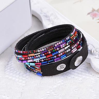 Women's Wrap Bracelet - Fashion Bracelet Orange / Rainbow / Blue For Wedding Party Special Occasion / Anniversary / Birthday