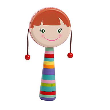 Blocos de Construir Acessório para Casa de Boneca Fantoches Brinquedos Ovelha Bateria De madeira Madeira Peças Crianças Dom