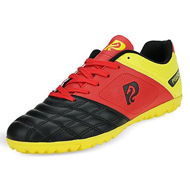 Kaikki kengät Tekonahka Kaikki vuodenajat Comfort Urheilukengät Jalkapallo Solmittavat varten Urheilullinen Valkoinen Musta Punainen
