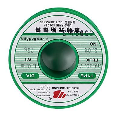 Bezolovnatý pájený drát sncu0.7, tenký vodič -1,0mm-75g / cívka