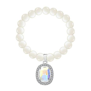 Dámské Strand Náramky Šperky Vintage příroda Módní Ručně Vyrobeno Perly Křišťál Slitina Šperky Pro Svatební Párty Narozeniny Maturita