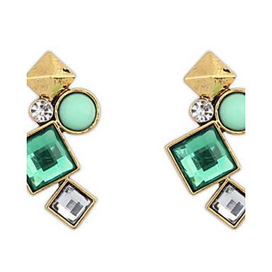 Damen Ohrstecker Tropfen-Ohrringe Kreolen Synthetischer Diamant Personalisiert Religiöser Schmuck Luxus Geometrisch Einzigartiges Design
