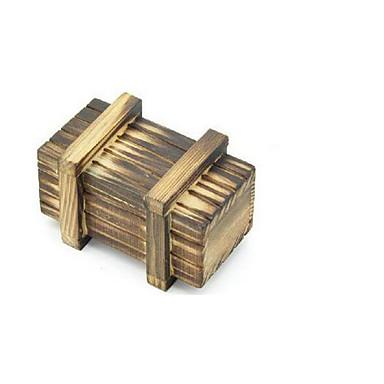 Bausteine Holzpuzzle Knobelspiele Kong Ming Geduldspiel Spielzeuge Quadratisch Intelligenztest Holz Kinder Stücke