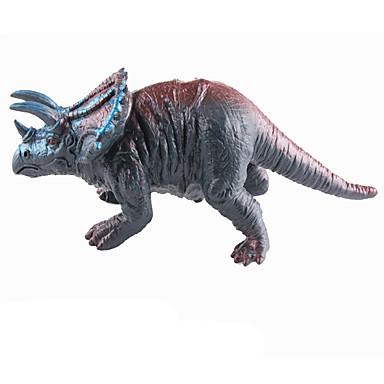 Draci a dinosaury Hračky Obrázky dinosaurů Jurský dinosauř Triceratops Tyrannosaurus rex Silikon Plastický Dětské Pieces