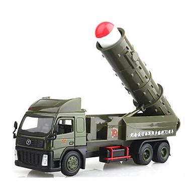 Carros de Brinquedo Carrinhos de Fricção Veículo Militar Brinquedos Cauda Liga de Metal Metal Estilo Chinês Peças Unisexo Dom