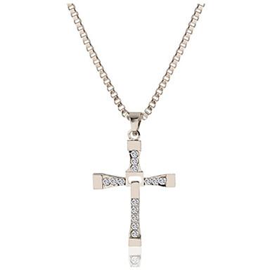 Pánské Dámské Luxus Jedinečný design Visací Klasické přátelství Křížem Euramerican Spojené státy Módní Náhrdelníky s přívěšky Slitina
