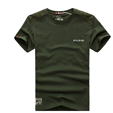 Herrn T-Shirt für Wanderer T-shirt Oberteile für Camping & Wandern Sommer M L XL XXL XXXL