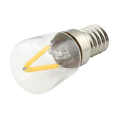 1PC 2W 170lm E14 مصابيحLED 2 الخرز LED COB أبيض دافئ 85-265V