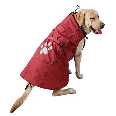 Cachorro Casacos Moletom Roupas para Cães Sólido Vermelho Azul Náilon Veludo Cotelê Ocasiões Especiais Para animais de estimação Homens