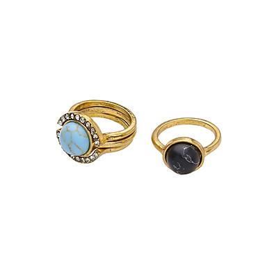 Damen Ring Personalisiert Einzigartiges Design nette Art Aleación Schmuck Für Party Geburtstag
