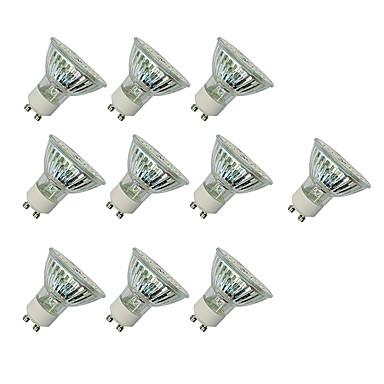 3W 280-420 lm GU10 LED-kohdevalaisimet MR16 60 ledit SMD 3528 Lämmin valkoinen Valkoinen