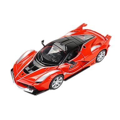 Hračky Model auta Závodní auto Hračky Hudba a světlo Auto Kov Pieces Unisex Dárek