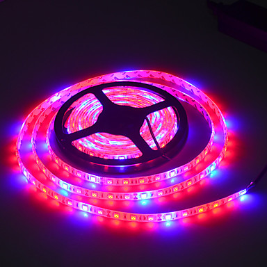 JIAWEN 5m Plant light strip 300 LEDs 5050 SMD Multi Color 100-240 V / IP65