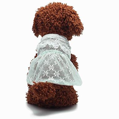 Cachorro Smoking Vestidos Roupas para Cães Casual Fashion Casamento Princesa Roxo Amarelo Azul Verde Claro Ocasiões Especiais Para