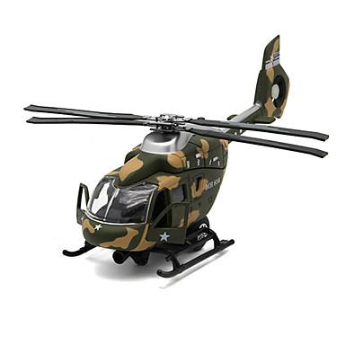 Lelut Pienoismallisetit Helikopteri Lelut Simulointi Lentokone Helikopteri Metalliseos Metalli Pieces Unisex Lahja