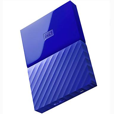 wd wdbynn0040bbl-cesn 4TB 2,5 tuuman sininen ulkoinen kiintolevy USB3.0
