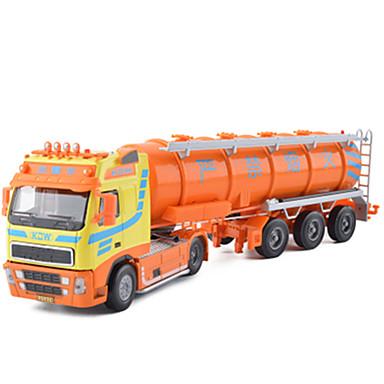 KDW Caminhão tanque Caminhões & Veículos de Construção Civil Carros de Brinquedo Carrinhos de Fricção Metal Unisexo Brinquedos Dom