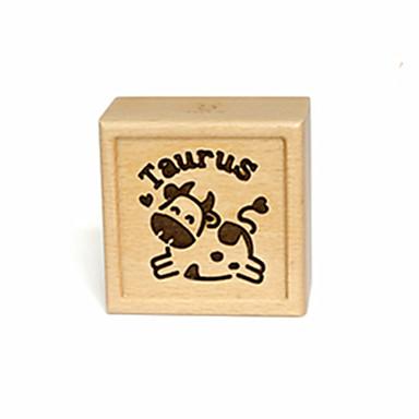 Music Box Hračky Obdélníkový Dřevo Pieces Unisex Dárek