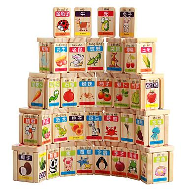 Building Blocks Fruit Animals Unisex Gift