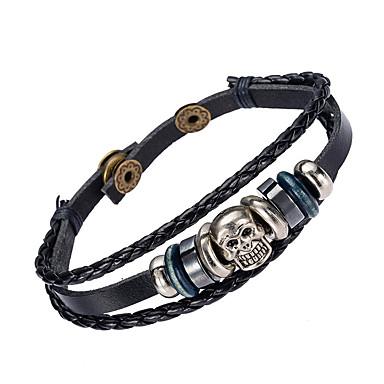 Pánské Kožené náramky Šperky příroda Módní Kožené Slitina Šperky Pro Zvláštní příležitosti Sport 1ks