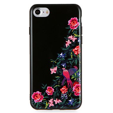 Case For Apple iPhone 7 Plus iPhone 7 Pattern Back Cover Flower Animal Hard PC for iPhone 7 Plus iPhone 7 iPhone 6s Plus iPhone 6s iPhone
