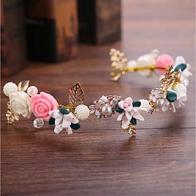 čelenky květy věnce hlavice klasický ženský styl
