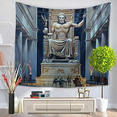 Architektura Wall Decor 100% polyester umělecké / Se vzorem Wall Art, Nástěnné tapiserie Dekorace